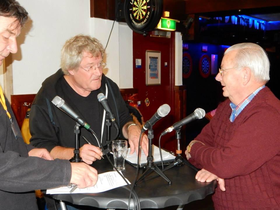 Barend Mulder was één van de gasten in de eerste uitzending van 'Het Geluid van Zuid' over de Vogelbuurt