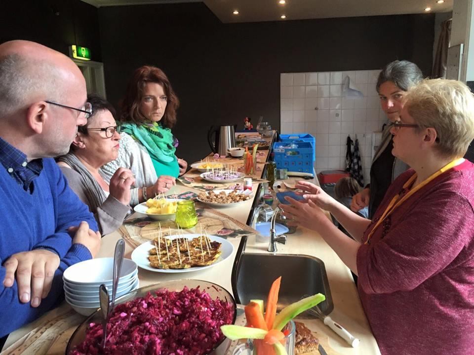 De dor vrijwilligers van Zuid Doet Samen georganiseerde middag was een groot succes!