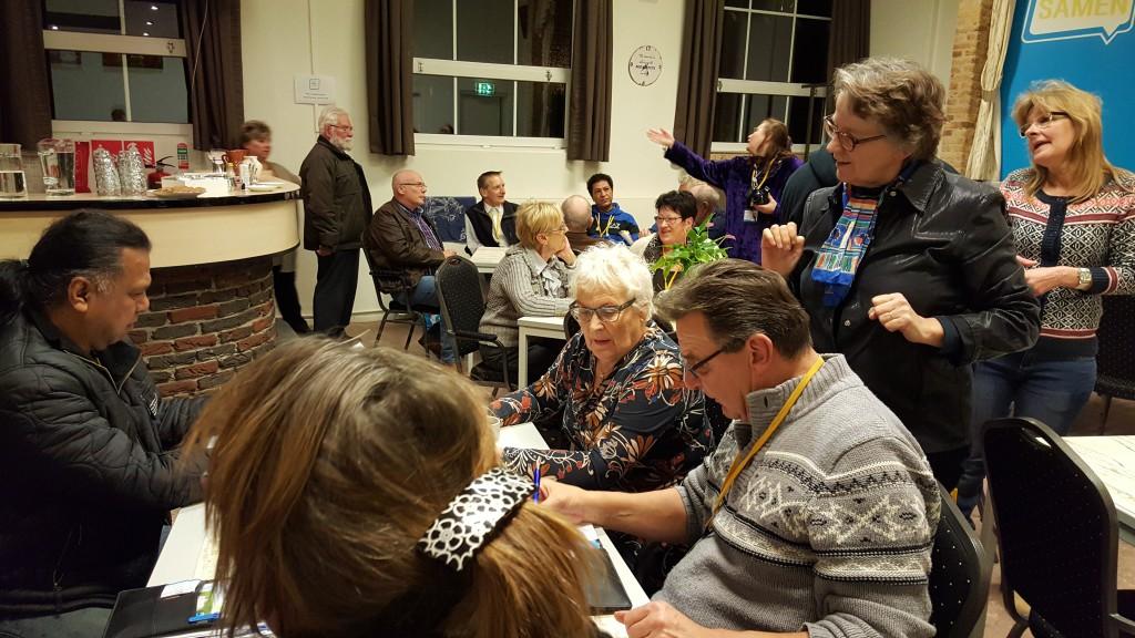 Volle bak in Ons Honk bij de bijeenkomst voor actieve buurtbewoners!