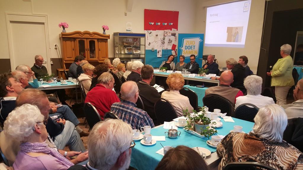 Veel leden voelen zich nauw betrokken bij onze buurtcoöperatie. De ledenvergadering werd dan ook druk bezocht.