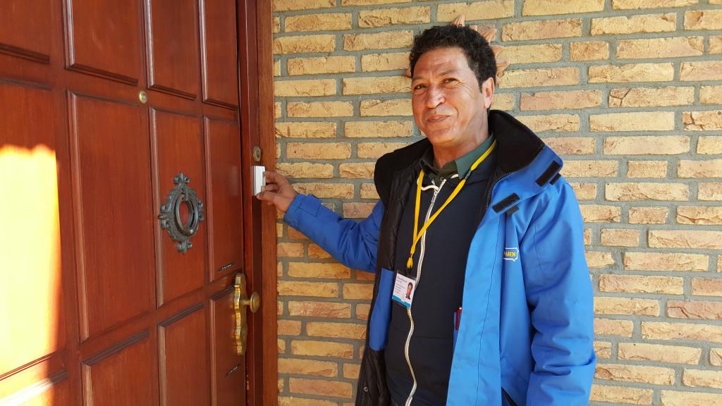 Buurtassistent Mhamed: 'ik ben trots op mijn werk!'